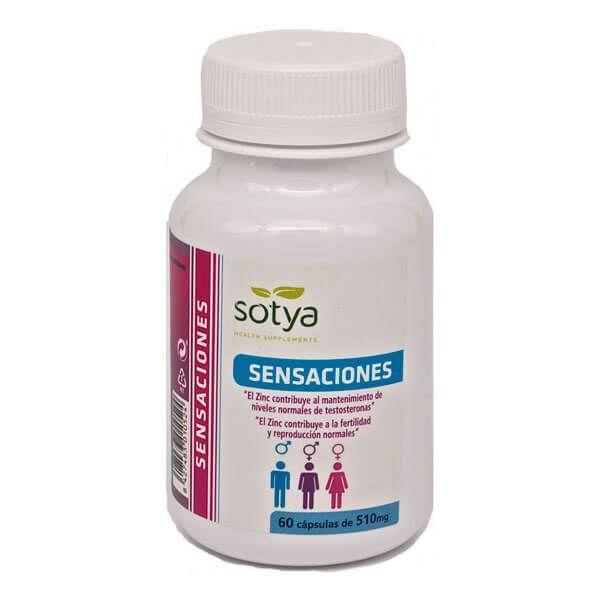 Sensaciones 510mg - 60 capsules Sotya Health Supplements - 1