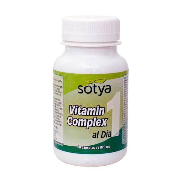 Vitamin complex 820mg - 60 capsules Sotya Health Supplements - 1