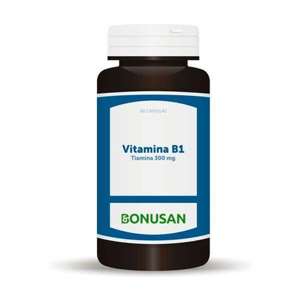 Vitamin b1 (Thiamine 300mg) - 60 capsules Bonusan - 1