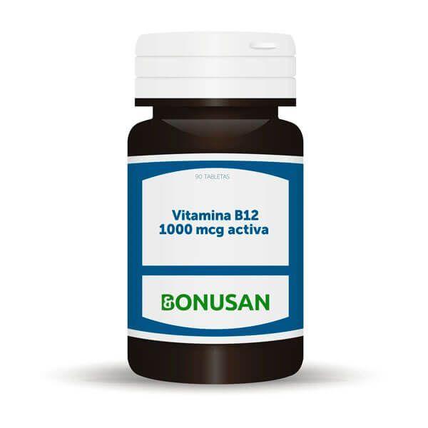 Vitamin b12 1000mcg active - 90 tablets Bonusan - 1