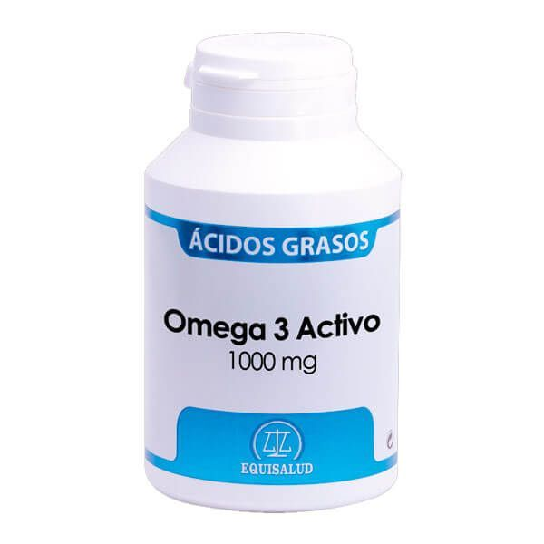 Omega 3 active 1000mg - 120 softgels Equisalud - 1