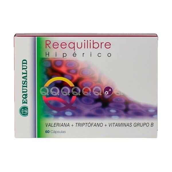 Reequilibre hypericum - 60 capsules Equisalud - 1