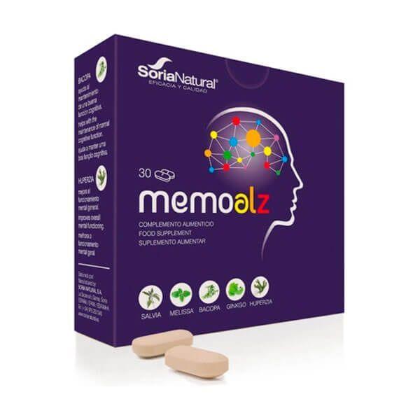 Memoalz - 30 tablets Soria Natural - 1