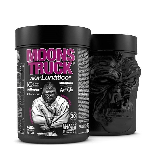 Moons truck pre-workout - 480g Zoomad Labs - 4
