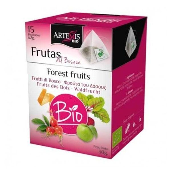 Fruits of the forest in pyramid - 15 sachets