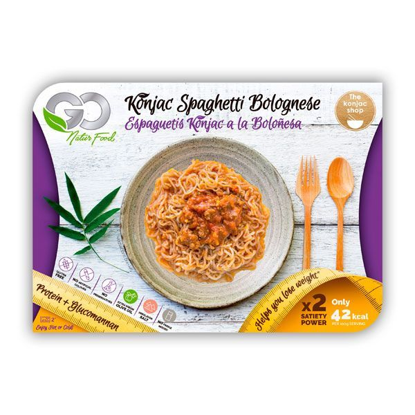 Konjac spaghetti bolognese