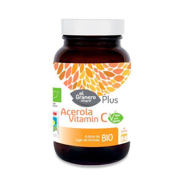 Acerola vitamin c - 60 capsules