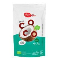 Organic toasted coconut flakes snack - 80g