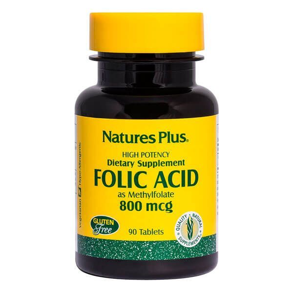 Folic acid 800 mcg - 90 tablets
