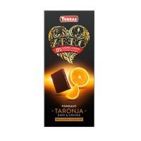 Dark chocolate with zero orange - 125g