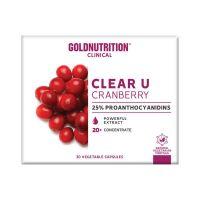 Clear U Cranberry - 15 Capsule
