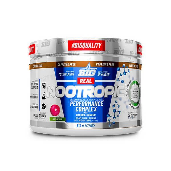 Real nootropic caffeine free - 90g