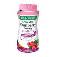 Cran-max cranberry 500mg gummies - 60 gummies