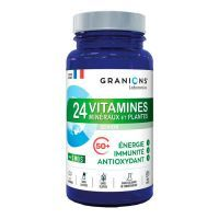 24 vitamins, minerals and plants - 90 tablets