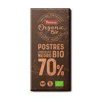 Fondant coating 70% organic cocoa - 200g