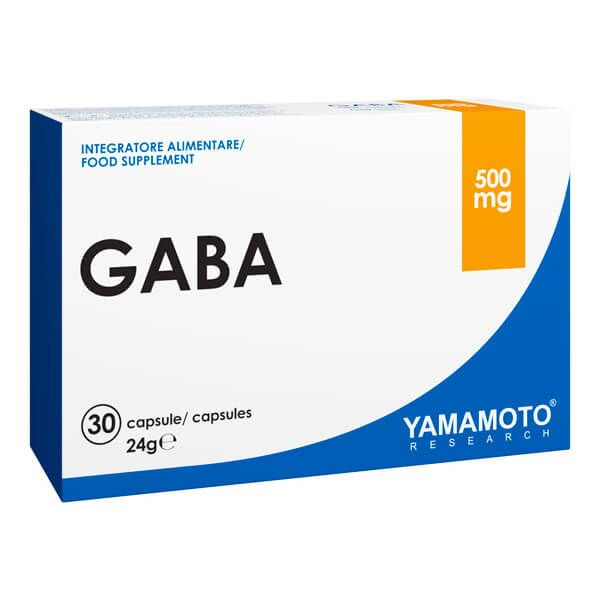 Gaba 500mg - 30 capsules