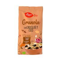 Granola with chocolate and coconut gluten free bio - 350g