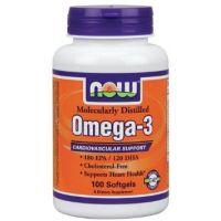 NOW Omega 3 1000 mg - 100 Softgel