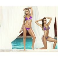 Bikini triangular nylon spandex