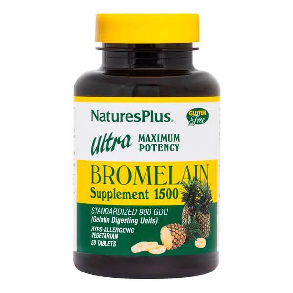 Ultra bromelain 1500 - 60 tablets