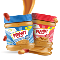 Pack Peanut Butter Crunchy and Soft - 700g