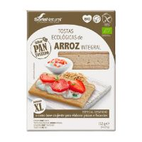 Ecological toast brown rice breakfast - 132g